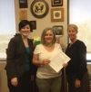 Letter drop at Congressman Ron Barber's Office, April 2014.